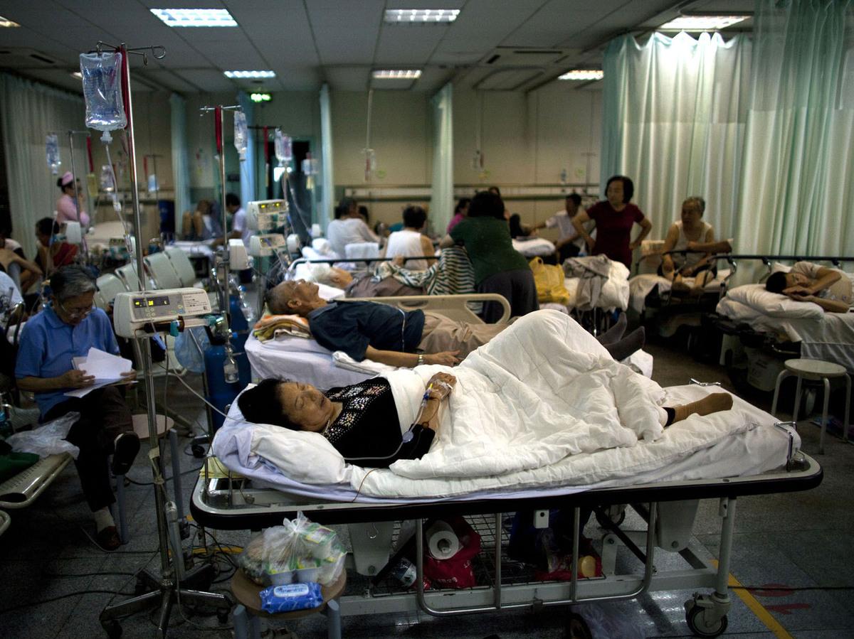 Chinese Hospital Emergency Room
