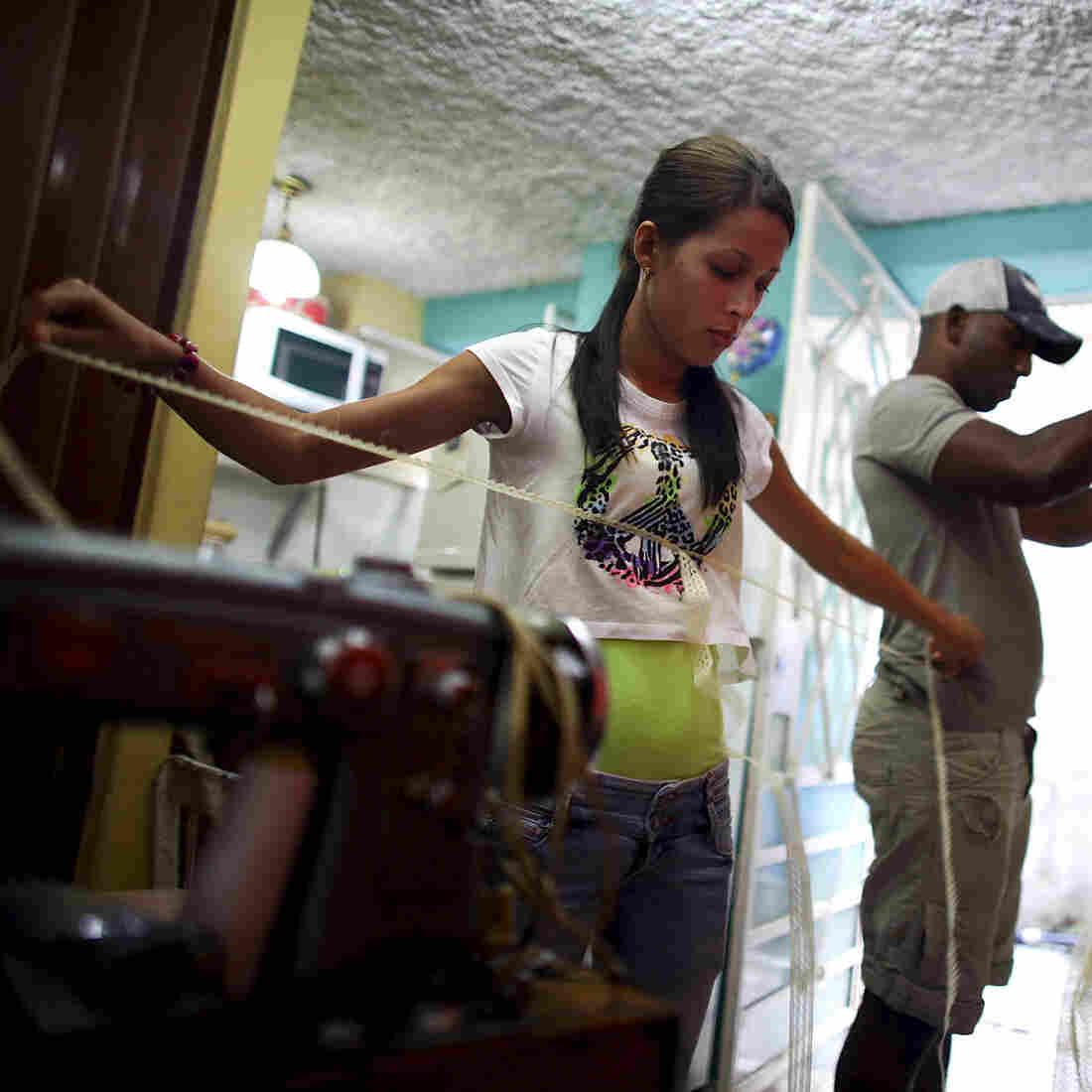 Cuba's Budding Entrepreneurs Travel A Rocky Road Toward Success