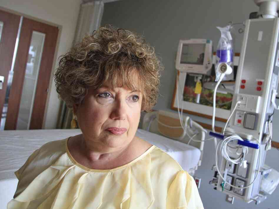 Dorothea Handron suffered an infection after a surgeon unknowingly pierced her bowel during a hernia operation. She became so ill that doctors placed her in a medically induced coma for six weeks.