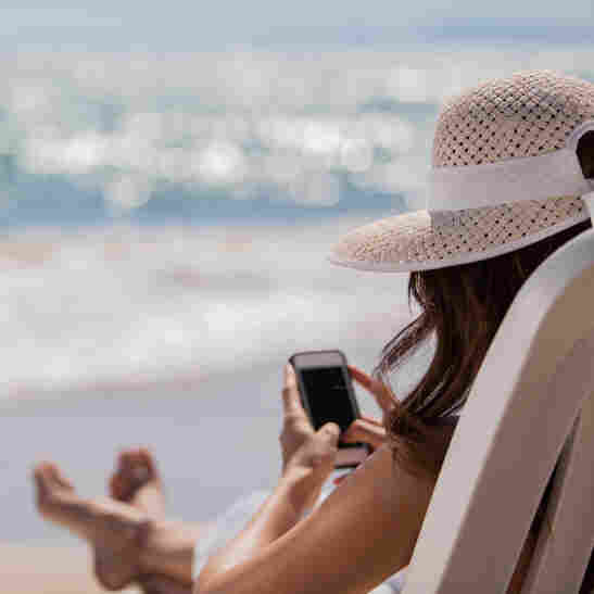 Take a break from catching up on social media and emails — even if it's only for a few days.