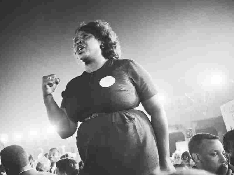 Fannie Lou Hamer was an activist who spoke out for black rights during Freedom Summer.