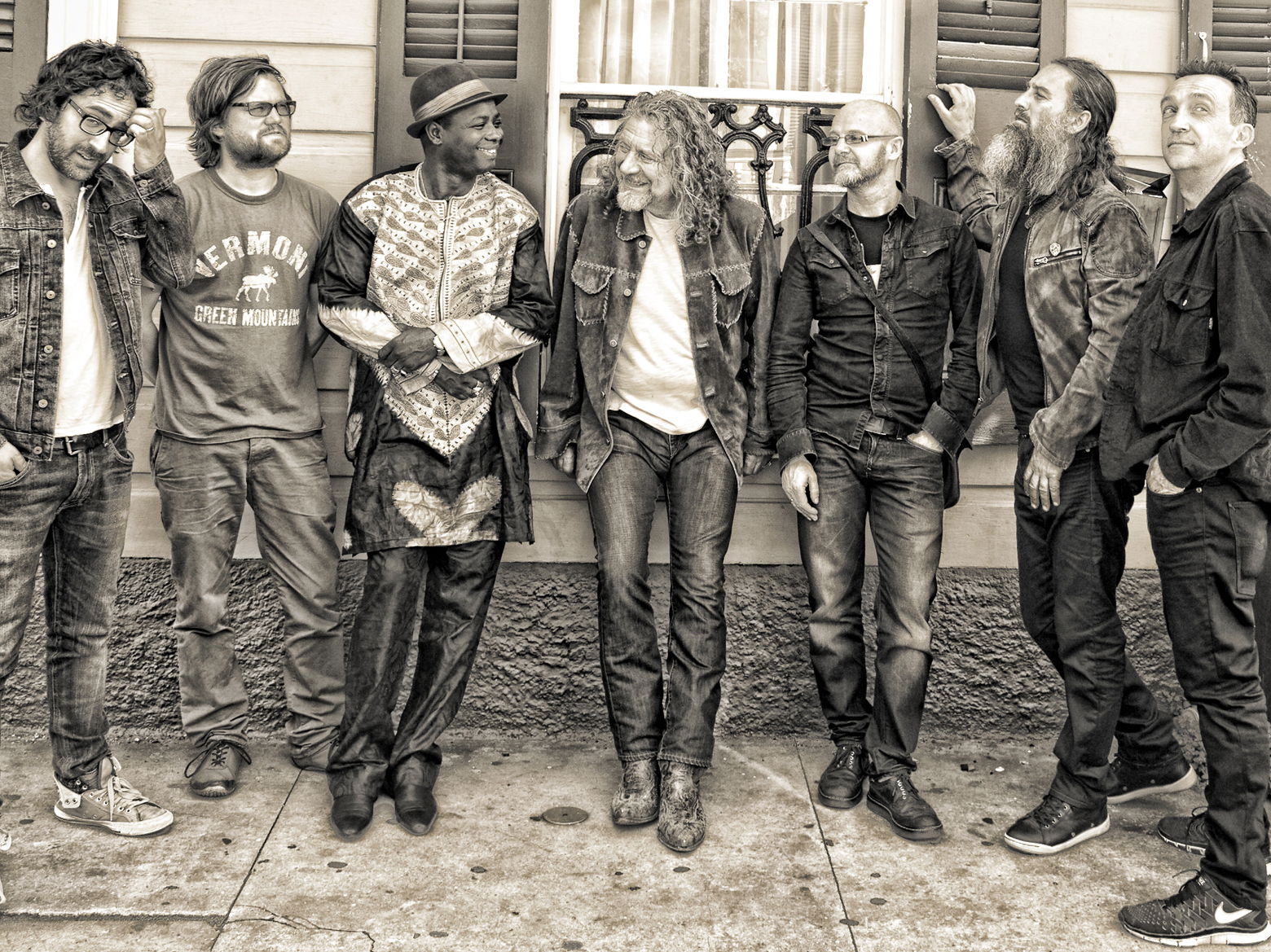 Song Premiere: Robert Plant's Bold New Band