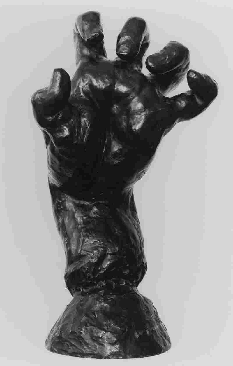 Rodin's Large Clenched Left Hand, circa 1888. Bronze, posthumous cast, 1971.
