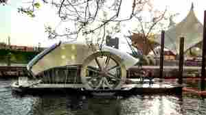 Baltimore's Water Wheel Keeps On Turning, Pulling In Tons Of Trash