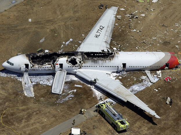 Asiana Flight 214 crashed at San Francisco International Airport in July 2013. The NTSB concluded Tuesday that an over-reliance on automated systems contributed to the crash.