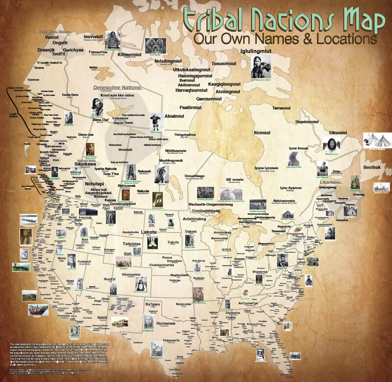 The Map Of Native American Tribes You\'ve Never Seen Before : Code ...
