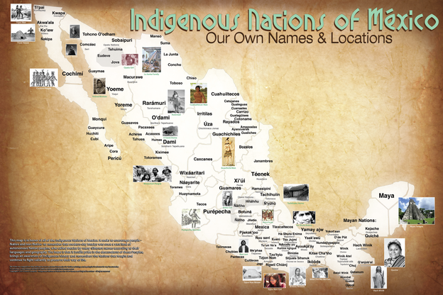 Earth Heal - The Map Of Native American Tribes You've ...