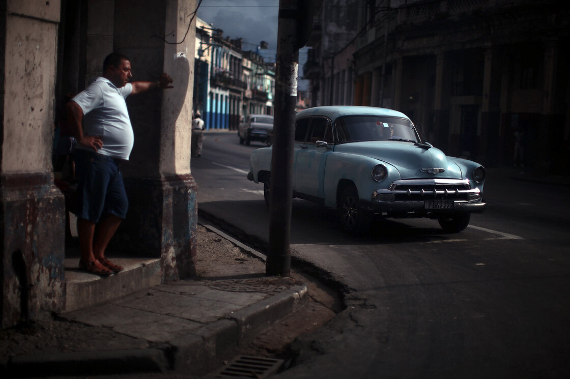Cuba's cars are impossible to ignore. It's like seeing a celebrity and trying not to stare.