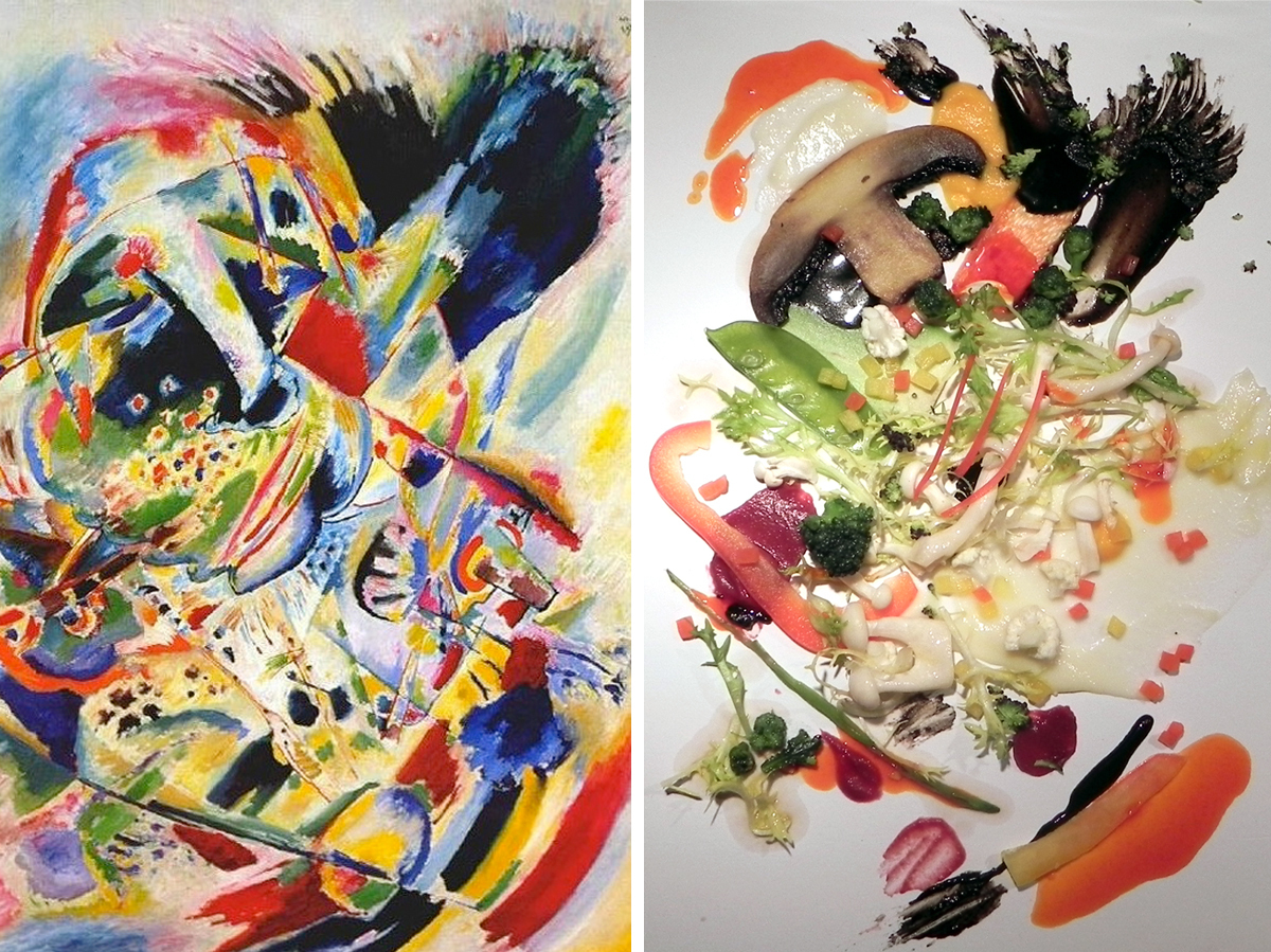 Kandinsky On A Plate: Art-Inspired Salad Just Tastes Better