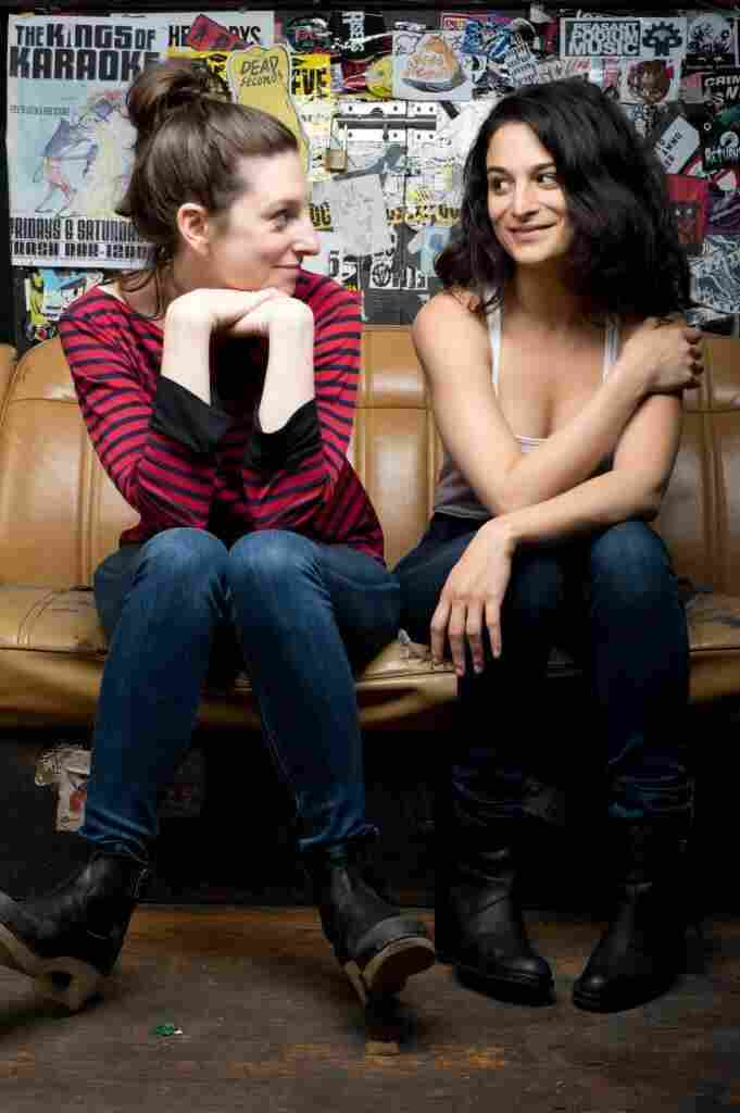 Director Gillian Robespierre (left) co-wrote Obvious Child as a short film in 2009 with an empowered female lead in mind. Jenny Slate, who stars as Donna in the feature film, says she was excited about the role.