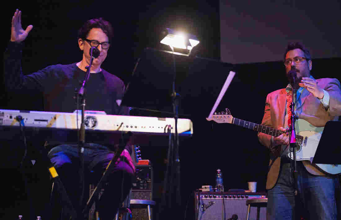 John Linnell and John Flansburgh of They Might Be Giants might enjoy putting our contestants through the ringer a little too much...