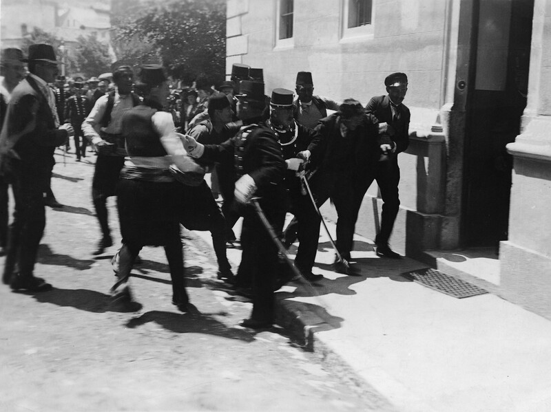 A century ago in sarajevo a plot a farce and a fateful for Farcical plot