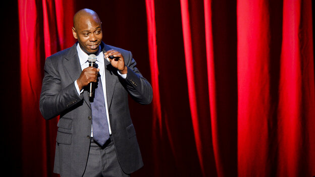 Chappelle alluded to his decision to walk away from his hit Comedy Central show only obliquely.