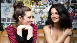 Director Gillian Robespierre (left) co-wrote Obvious Child as a short film in 2009 with an empowered lead female in mind. Jenny Slate, who starred as Donna in the feature film, says she was excited about the role.