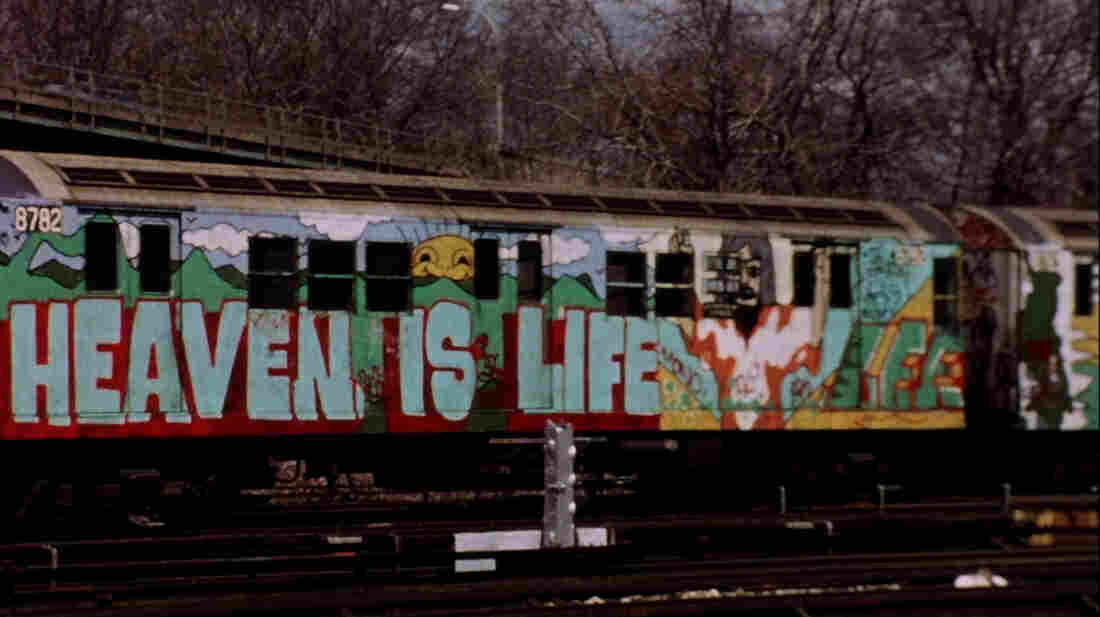 The 1981 film Stations of the Elevated follows graffiti-covered trains in New York City. The film is being reissued in New York this week and the rest of the country this fall.