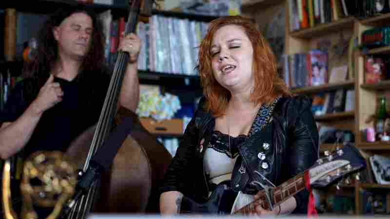 Lydia Loveless performs a Tiny Desk Concert.