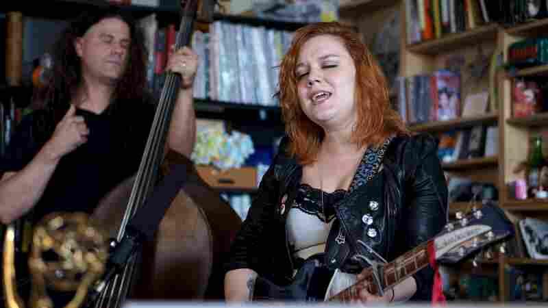Lydia Loveless performs a Tiny Desk Concert.
