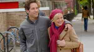 Paul Rudd and Amy Poehler play a couple, sort of, in the underwhelming rom-com parody They Came Together.