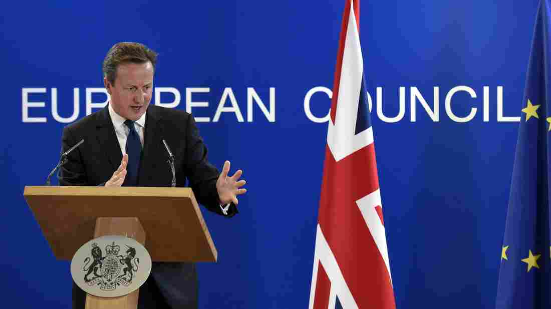 "On the sidelines of the EU summit in Brussels, U.K. Prime Minister David Cameron said the choice of Jean-Claude Juncker to head the European Commission marks ""a bad day for Europe."""