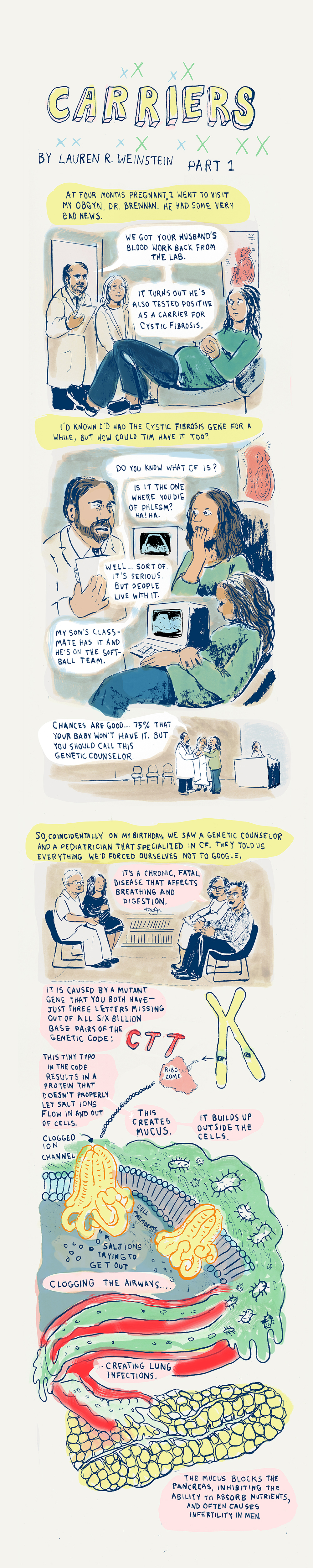 Carriers: A Webcomic on Health, Luck, and Life