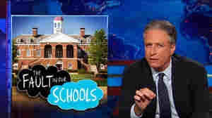 """""""Clearly universities are not making their campuses safe for women,"""" Comedy Central's Jon Stewart noted in a recent segment focusing on rape and sexual assault on campus."""