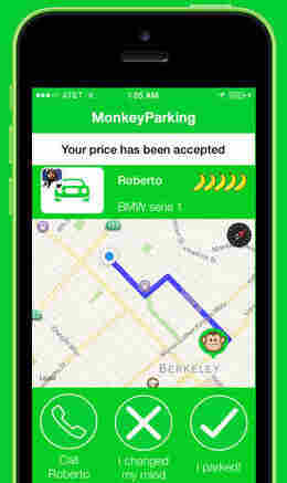 MonkeyParking is working on its business model and user experience.