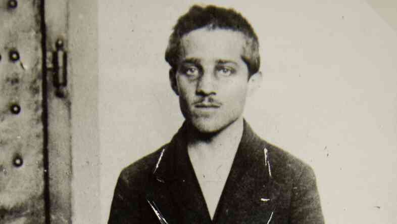 Nineteen-year-old Bosnian Serb Gavrilo Princip fired the shots that killed the heir to the Austro-Hungarian empire, Archduke Franz Ferdinand, and his wife, Sophie, during a visit to Sarajevo on June 28, 1914. Depending on whom you ask, he's either a hero or a terrorist.