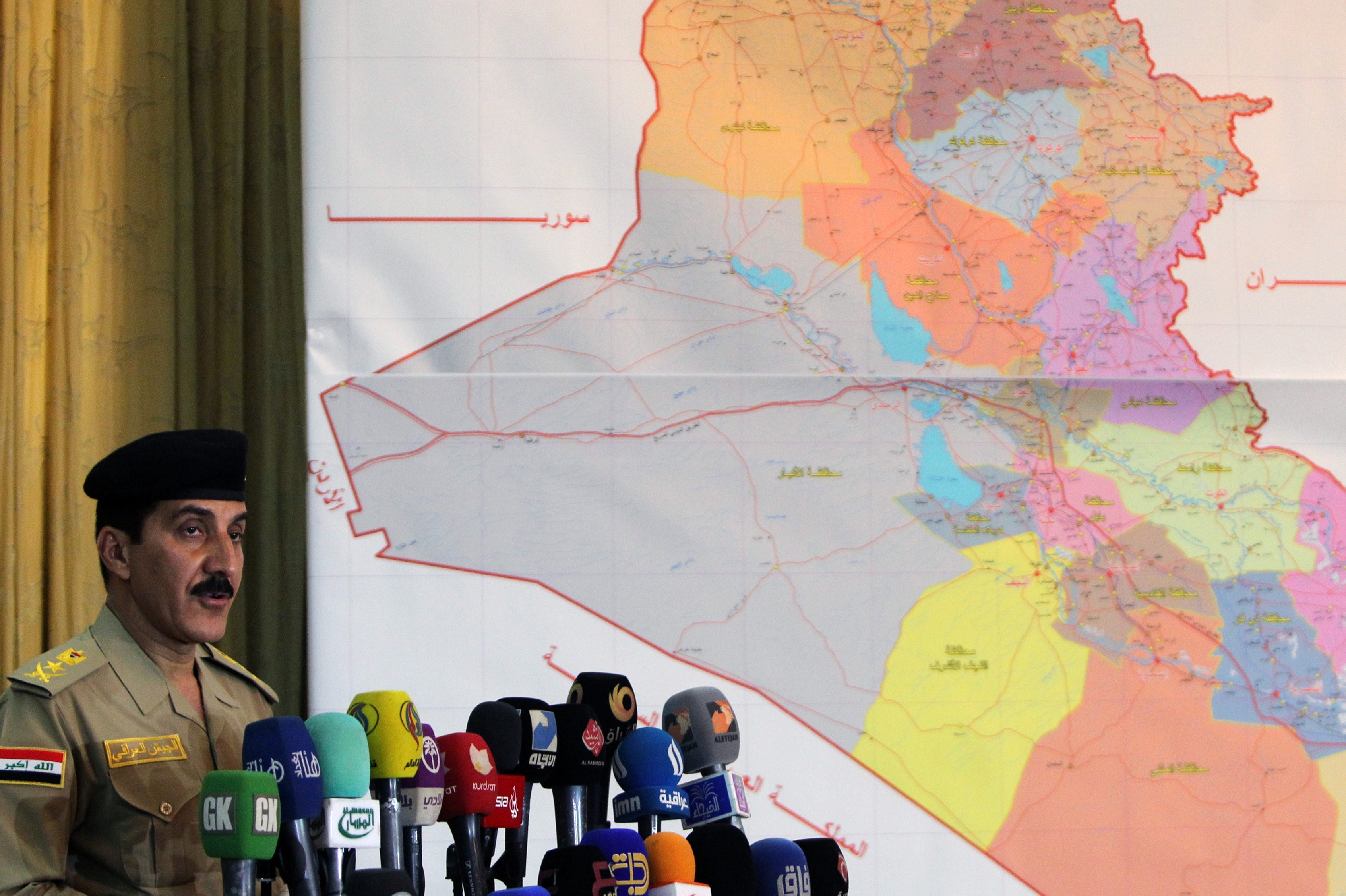 Iraqi Military Launches Offensive Against Insurgents In Tikrit