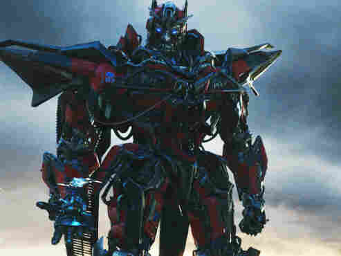 Sentinel Prime (Leonard Nimoy) aids the evil Decepticons in Transformers: Dark Of The Moon.