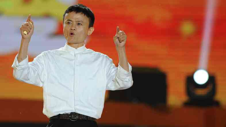 Jack Ma speaks in Hangzhou, China, on May 10, 2013. Ma shot to fame as the founder of Alibaba, the pioneering Chinese e-commerce site that's poised to be one of the biggest tech IPOs ever when it goes public in New York.