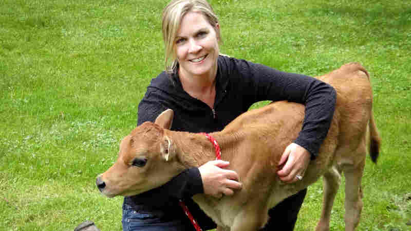 Charlotte Smith, of Champoeg Creamery in St. Paul, Ore., says raw milk may offer health benefits. But she also acknowledges its very real dangers.