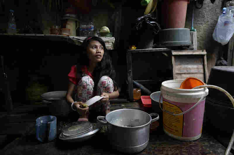 """""""I really wish to see my little sibling to be happy, and send her money for her daily needs."""" - Nurro, 16, Indonesia"""