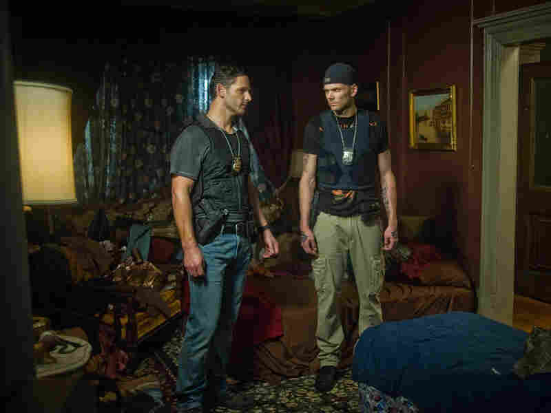 Joel McHale co-stars with Eric Bana in the thriller Deliver Us From Evil.