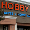 Customers enter a Hobby Lobby store in Antioch, Calif., this past spring. The Supreme Court is ruling on the crafts store chain's resistance to portions of the Affordable Care Act. The store's owners cite their religious freedom.