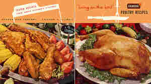 Fried or roasted, chicken is popular at picnics. Armour poultry recipes, 1953