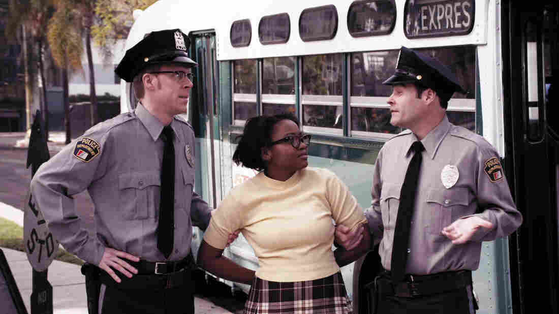 Mariah Wilson plays Claudette Colvin in the Season 2 premiere of Drunk History. Derek Waters says the civil rights activist is one of the more inspiring figures he has come across in the process of making the show.