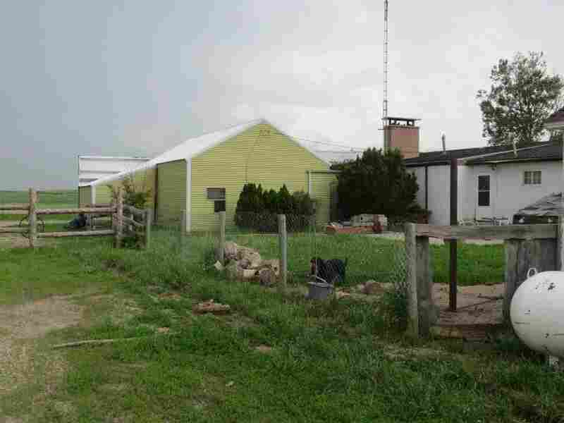 The property includes a tavern, workshop, three trailers and a house.