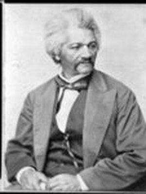 Abolitionist Frederick Douglass.