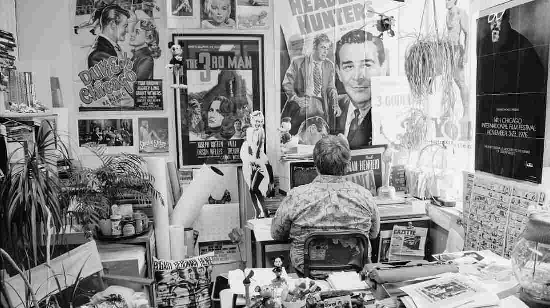 Roger Ebert was surrounded by movie memorabilia in his office. The new documentary Life Itself captures how Ebert lived life and faced death.