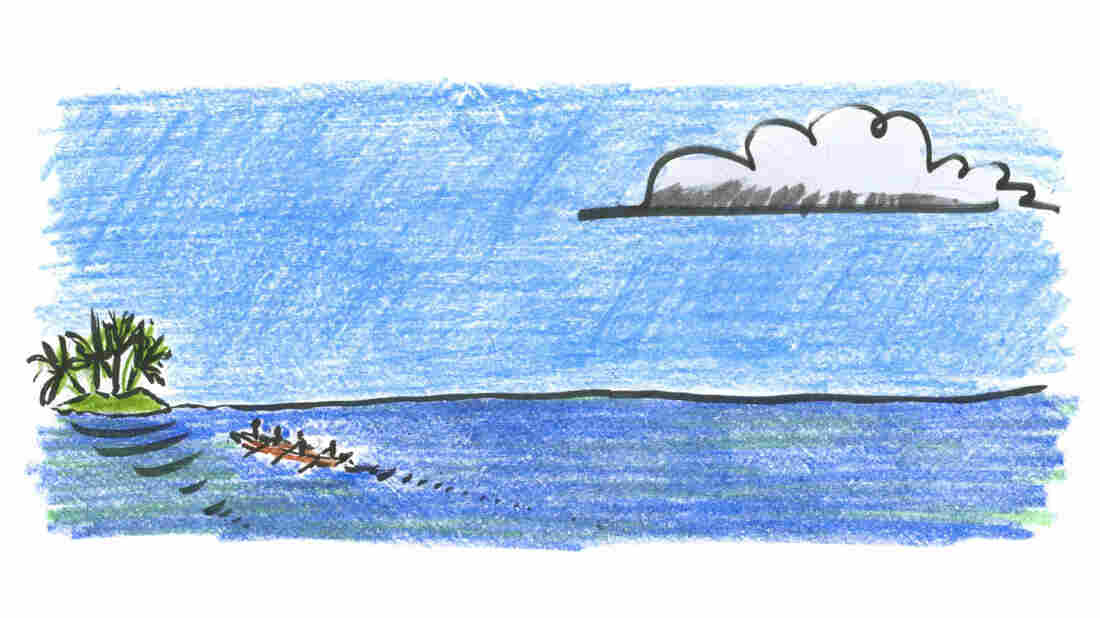 Micronesian canoeists were highly skilled navigators.