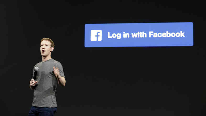 Facebook CEO Mark Zuckerberg speaks at a developer conference in April. His company was unliked this week for manipulating users' news feeds to test their emotions.