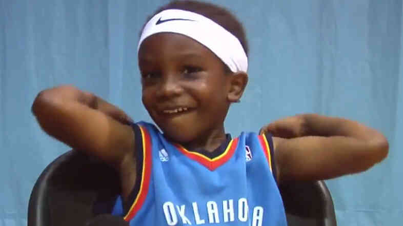 At 4 years old, Josiah Brown is already turning heads in basketball-crazy North Carolina.