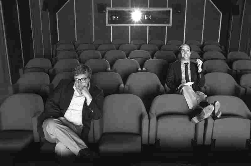 Roger Ebert reviewed movies for the Chicago Sun-Times for 46 years. His TV sparring partner was also his newspaper rival — Gene Siskel, the film critic for the Chicago Tribune.