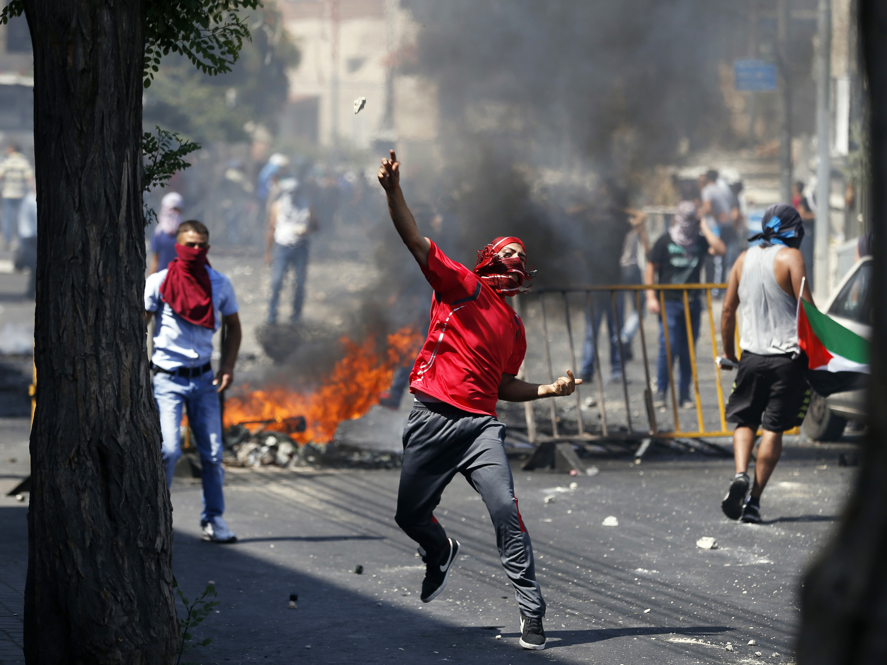 Clashes Erupt In Jerusalem Over Palestinian Teen's Funeral
