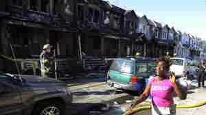 Philadelphia Row House Fire Kills 4 Children