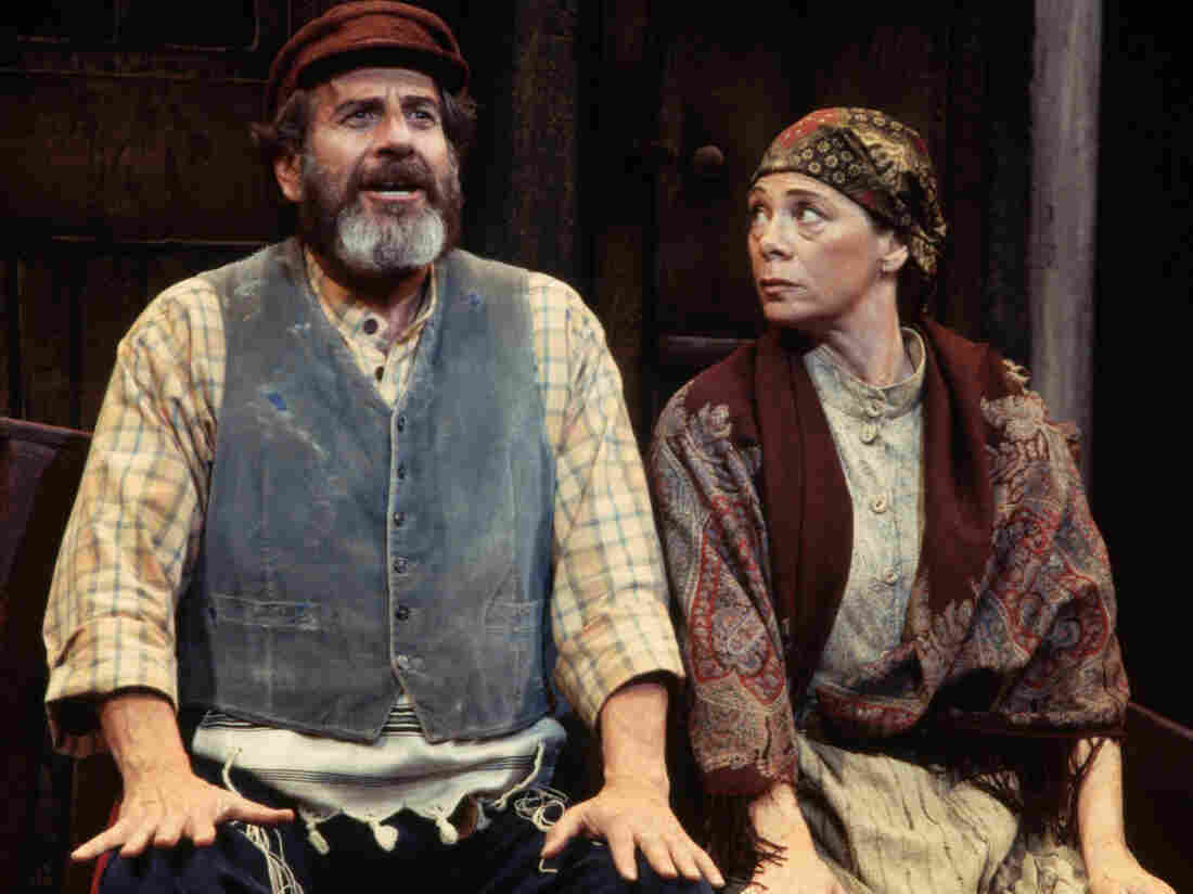 A scene from the 1994 London revival of Fiddler on the Roof.