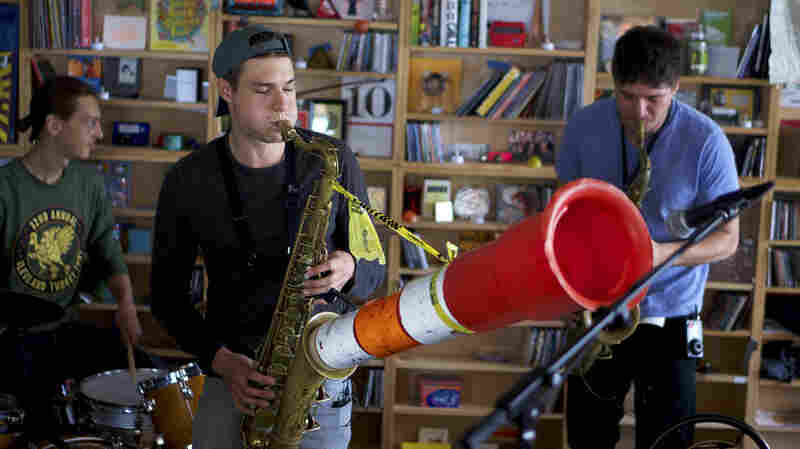 Moon Hooch: Tiny Desk Concert