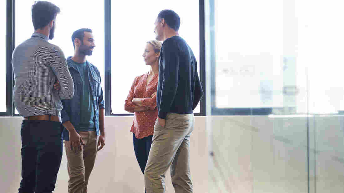 Standing even for part of a meeting could engage your team in more productive collaboration, researchers say.