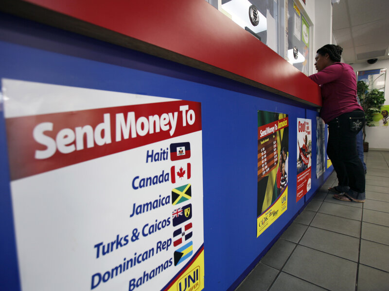 Immigrants Sending Money Back Home Face