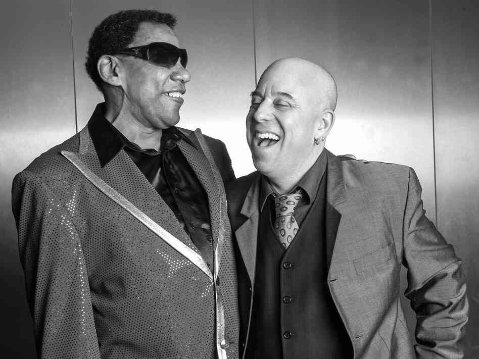 New Orleans pianist Henry Butler (left) and arranger and trumpeter Steven Bernstein will release their collaborative record, Viper's Drag, in the U.S. on July 15.